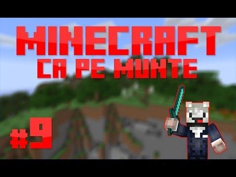 [RO] S1E9 | Minecraft Ca pe munte | Refacem casa!