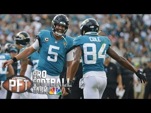 Blake Bortles silences critics with big game vs. Patriots I Pro Football Talk I NBC Sports