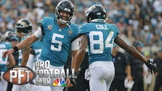 Blake Bortles silences critics with big game vs. Patriots I Pro Football Talk I NBC Sports