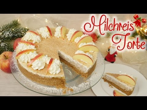 Milchreis-Torte | Winterliche Torte mit Milchreis | Gewinnspiel