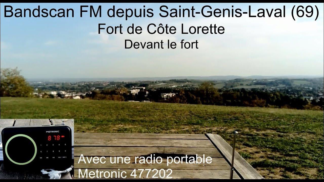 Bandscan FM au Fort de Côte Lorette (Saint-Genis-Laval) (2/2) - YouTube
