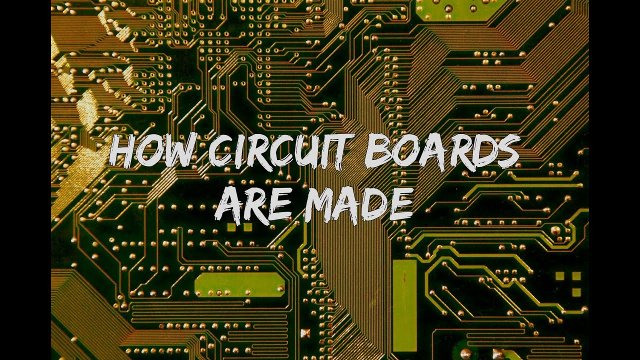 how computer circuit boards are made youtubehow computer circuit boards are made