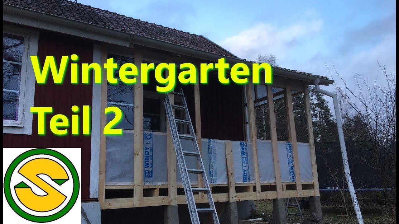 Top Den Wintergarten selber bauen UH65