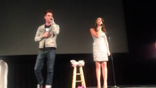 Josh and Colleen duet - All of Me/Boyfriend mashup - Washington D.C 7/19/14