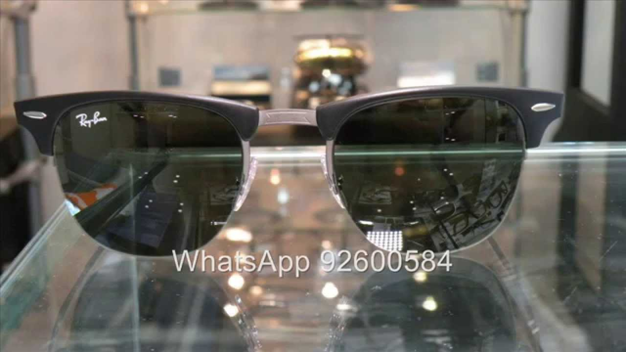 8bbafe05c7 Ray Ban Tech Light Ray RB8056 Clubsmater Style 太陽眼鏡- YouTube
