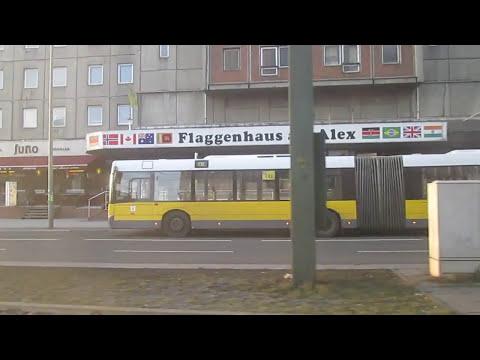 Tramfahrt Berlin In Echtzeit, Linie M2