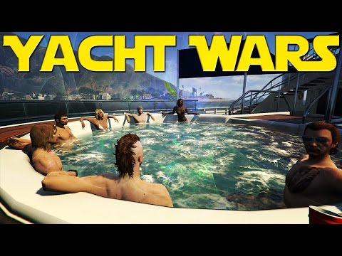 Yacht Wars | GTA 5 Online | Executives & Other Criminals DLC STREAM