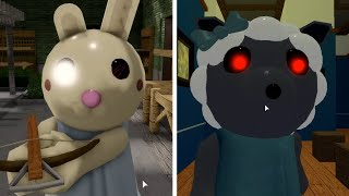 ROBLOX PIGGY BUNNY vs SHEEPY - Roblox Piggy Book 2