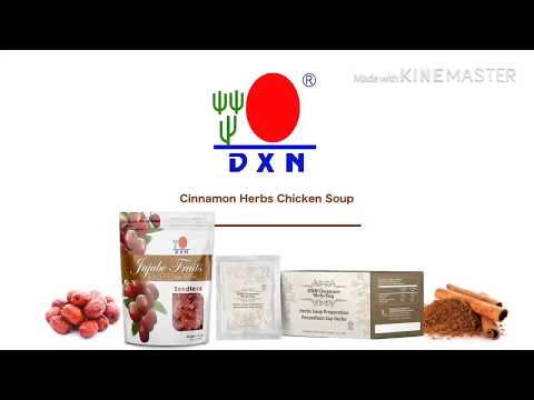 New Products Pre-Launching DXN Cinnamon Herbs Bag - DXN Cinnamon Herbs Chicken Soup Recipe