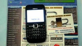 Liberar Nokia E63 por codigo imei, unlock www.liberar-movil-por-imei.com