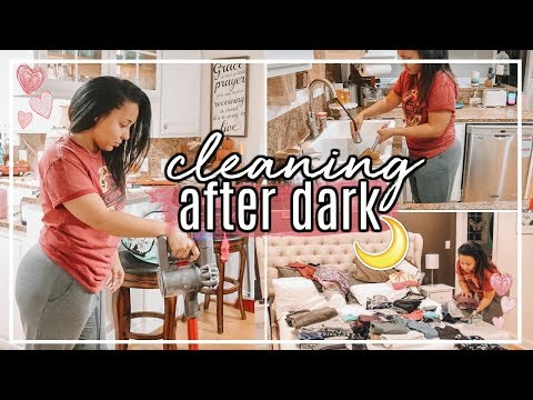 AFTER DARK ULTIMATE CLEAN WITH ME 2018  CLEANING MOTIVATION WITH CLEANING MUSIC  Page Danielle