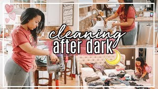 AFTER DARK ULTIMATE CLEAN WITH ME 2018 | CLEANING MOTIVATION WITH CLEANING MUSIC | Page Danielle