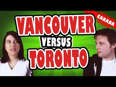 Toronto Versus Vancouver - Comparação - Qual cidade é melhor?