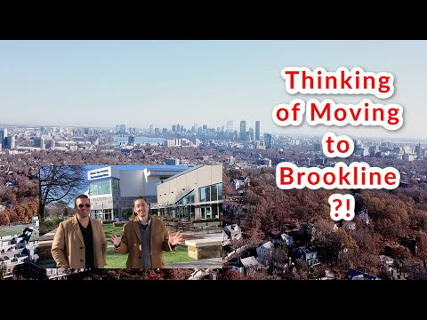 WHAT IT'S LIKE TO LIVE IN BROOKLINE MASSACHUSETTS!