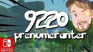 9220 prenumeranter?! | The legend of Zelda: Breath of the wild på svenska