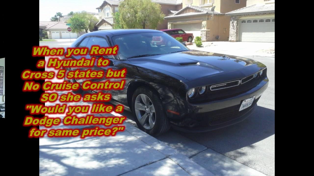 Enterprise Gave Me A Free Dodge Challenger Original Metal By Randy