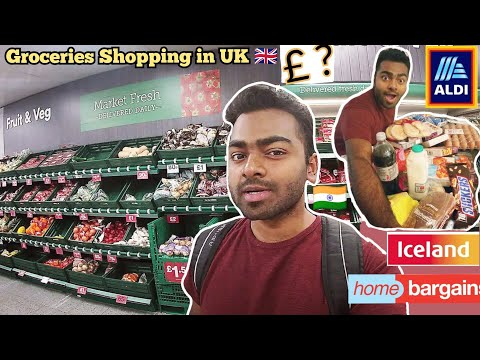 INDIAN Student in UK VLOG| My Groceries Expenses|University of Birmingham, England| Student Life.