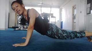 """Why you can't do push-ups:  Planks and Push ups """"unpacked"""""""