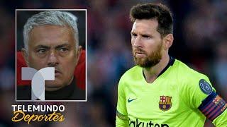 El palo de Mourinho a Messi para el Balón de Oro ¿será? | Telemundo Deportes