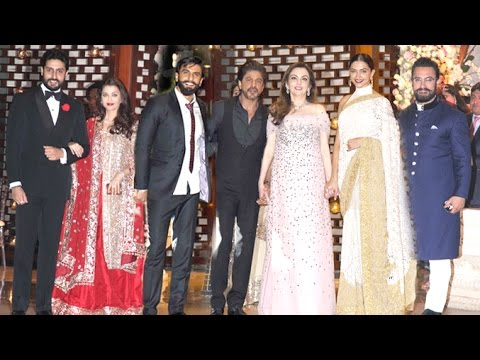 Ambani's Niece GRAND Pre Wedding Party 2016 Full Video HD - Shahrukh,Deepika,Ranveer