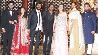 Ambani's Niece GRAND Pre Wedding Party 2016 Full Video HD - Shahrukh,Aamir,Aishwarya,Deepika,Ranveer