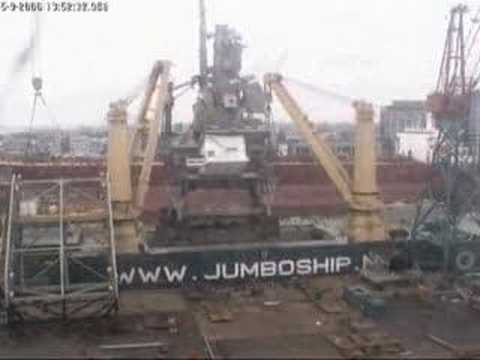 world record: 1800 tonnes lift on vessel