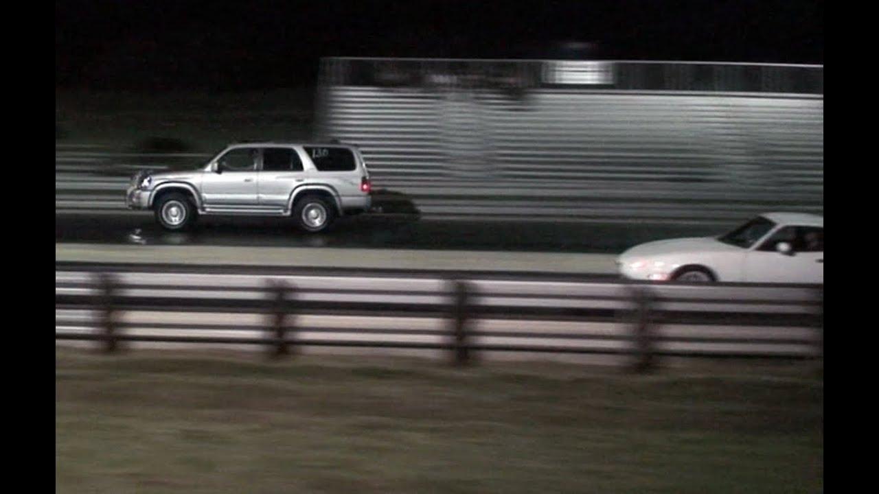 4 Runner >> (HD) Texas_Ace 2000 Toyota 4runner TRD Supercharger 10.68 Sec Drag Race vs Miata - YouTube