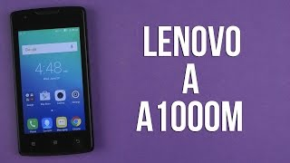 Розпакування Lenovo A A1000M Black