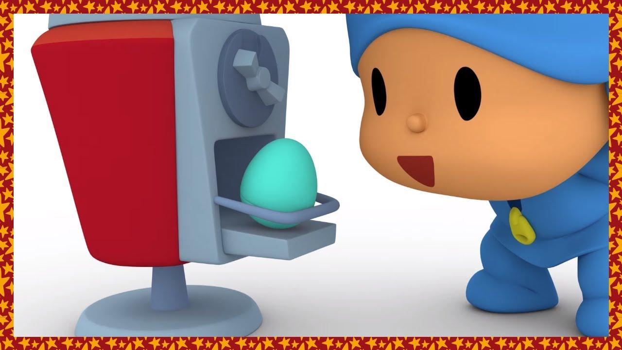 🥚 Huevos Sorpresa: Aprende Los Números | Caricaturas, Dibujos Animados, Canciones Infantiles -Pocoyó
