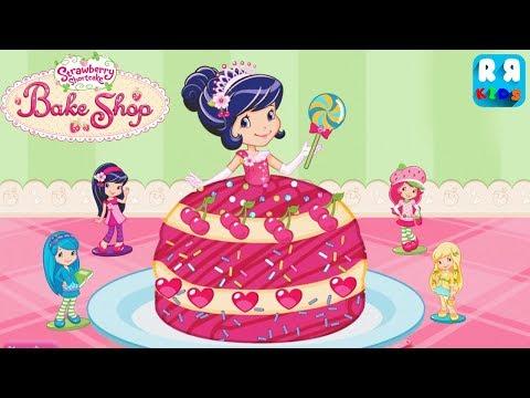 Strawberry Shortcake Bake Shop (by Budge Studios) - How to Bake a Princess Cherry Jam Cake?