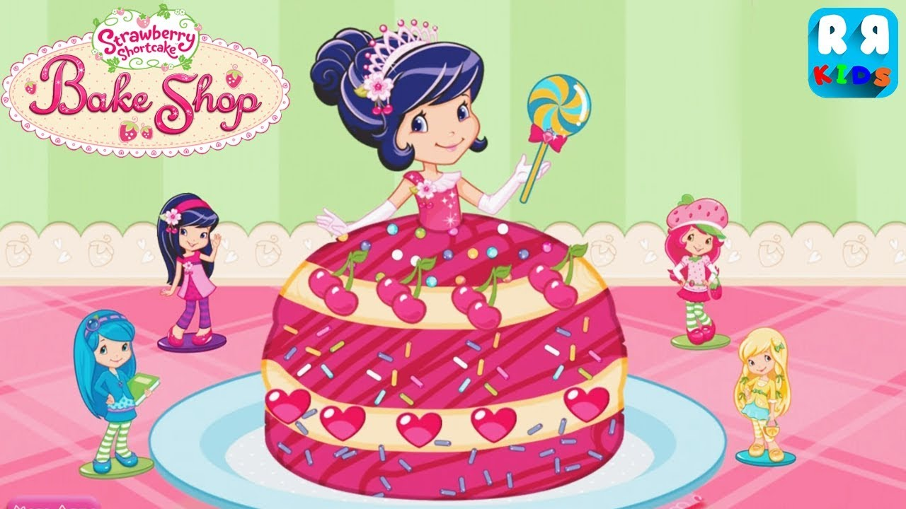 strawberry shortcake bake shop by budge studios how to bake a