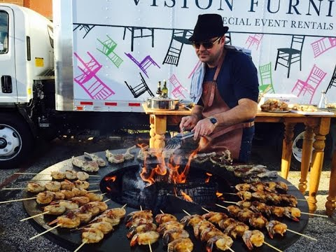 Ofyr Wood Fired Grill Rentals Vision Furniture Youtube