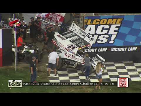 Knoxville Nationals: SPEED SPORT Challenge Highlights - August 10, 2018