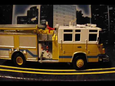 Yellow Fire Engine