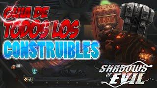 TODOS los Objetos CONSTRUIBLES en Shadows of Evil | Tips & Trucos