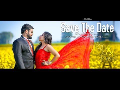 SAVE THE DATE -  RAJU + PREETI - BANGALORE