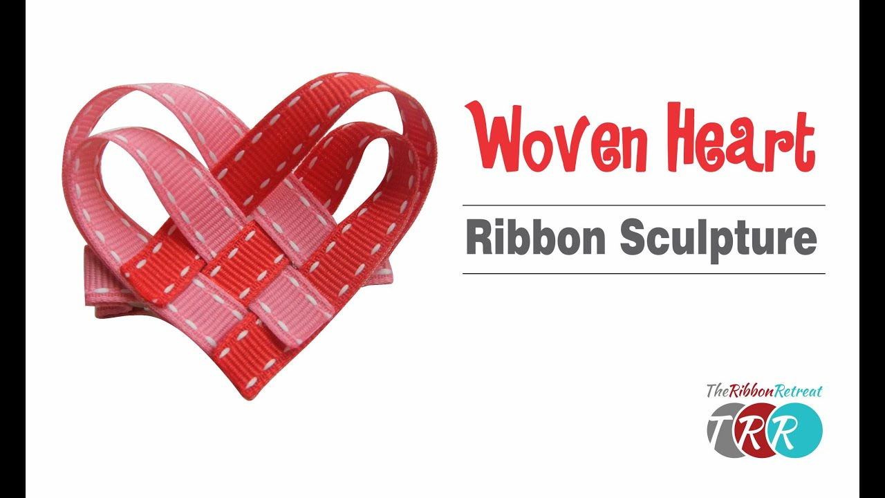 Grossgrain ribbon-Hearts