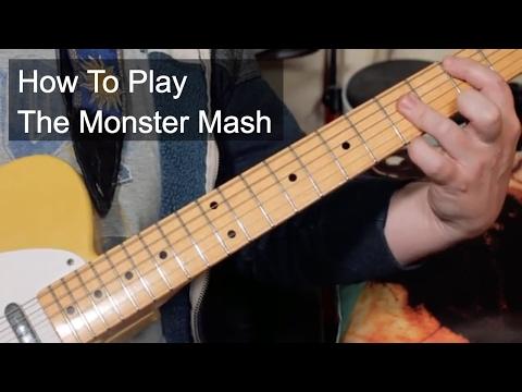 'Monster Mash' Guitar Lesson