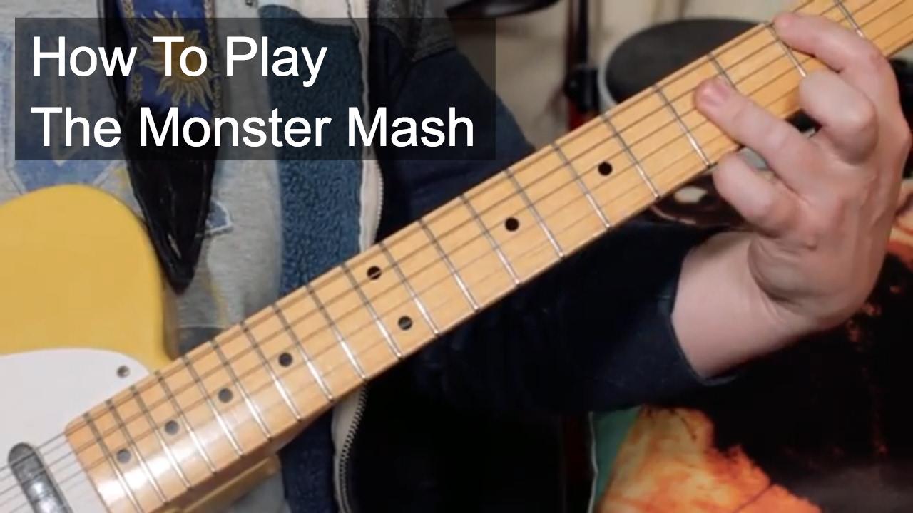 Monster Mash Guitar Lesson Youtube