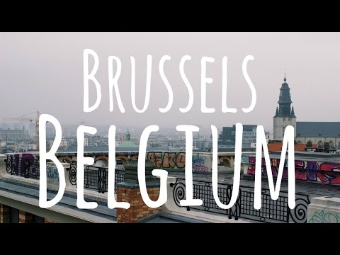 Brussels, Belgium // Travel Vlog 2016