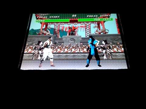 Mortal Kombat arcade project