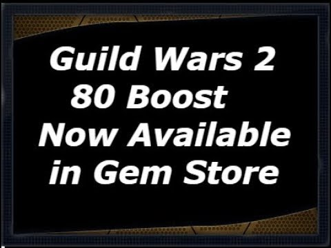 Guild Wars 2 Level 80 Boost Now in Gem Store!! Good Or Bad?