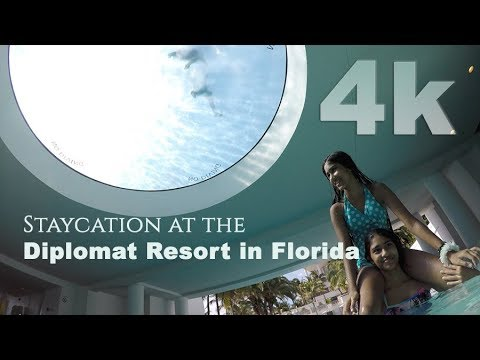 Perfect Hotel for Kids and Adults - Tour of the Diplomat Hotel 4K Hollywood, Florida