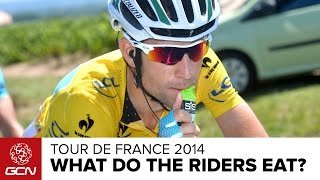 What Do Tour De France Riders Eat? | Tour De France 2014