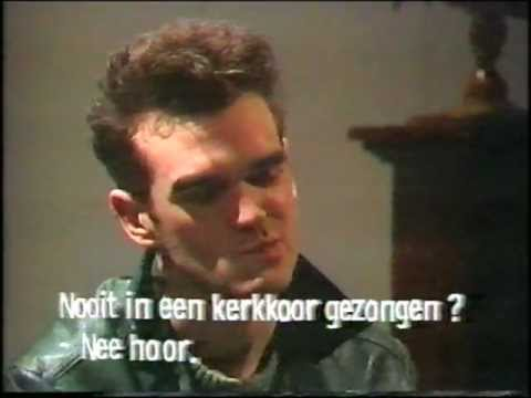 Morrissey & Marr Interview (Pop-Elektron) (1984)