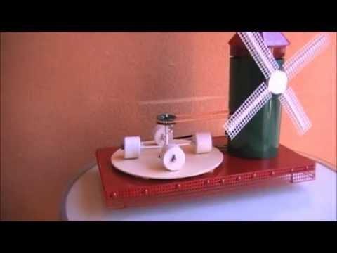 Molino de youtube for Como hacer molinos de viento para el jardin