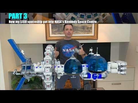 How my LEGO Spaceship got into NASA Kennedy Space Centre & Gift from Astronaut Chris Hadfield PART 3