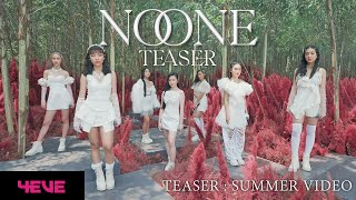4EVE - NO ONE (Prod. by BenLUSS) - Teaser Summer Video