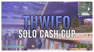 [VOD REVIEW] Thwifo Solo Cash Cup: Positional Sniping, Early Rotates and... Pickaxing!