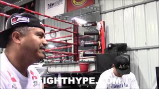 "(EPIC) ROBERT GARCIA, MIKEY GARCIA, & THE BIG G DEBATE IF FLOYD MAYWEATHER IS REALLY ""THE BEST EVER"""